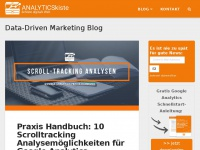 analyticskiste.blog